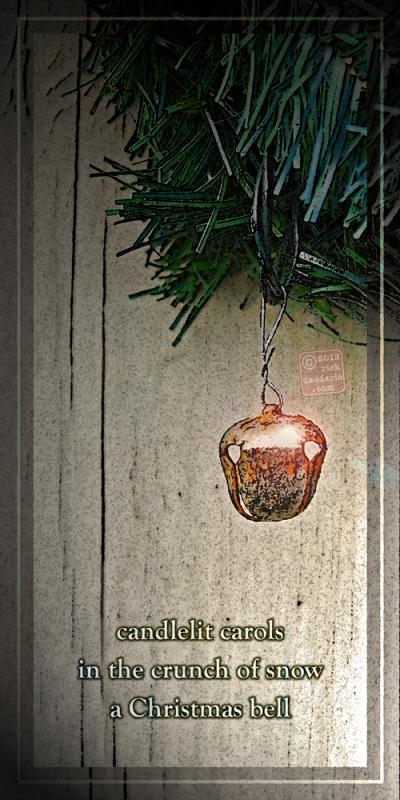 ©13 A Christmas Bell with Haiku