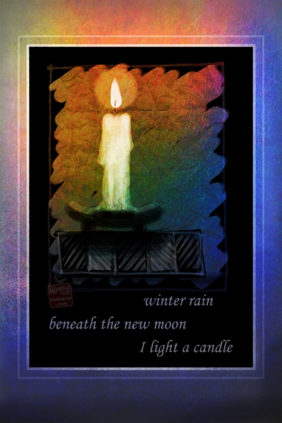 ©13 New Moon Candle