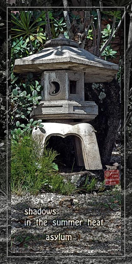 ©13 Stone Lantern by Day 4 with Haikuku 1 sml6x