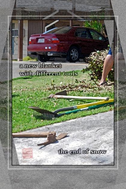 ©13 Spring Yard with Haiku 3 sml6x