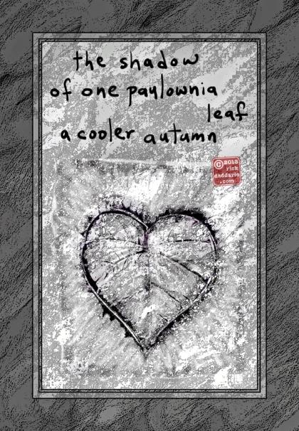 ©13 One Paulownia Leaf 3 sml 6x