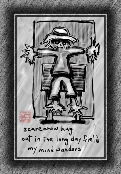 ©13 Scarecrow Hug 4 sml 6x