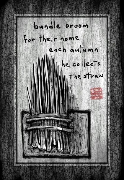 ©13 Bundle Broom Straw 5 sml 6x