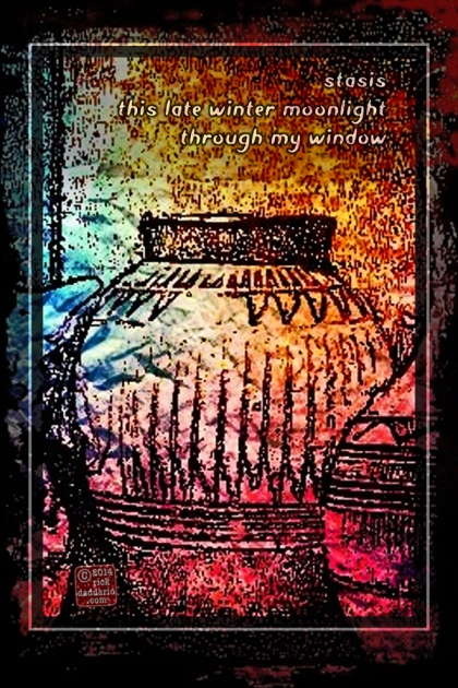 ©14 Lamplight Vase 2 sml 6x