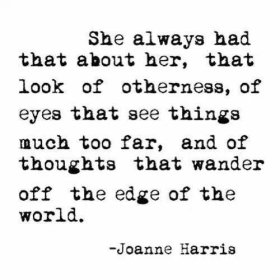 Joanne Harris Quote Prompt 1