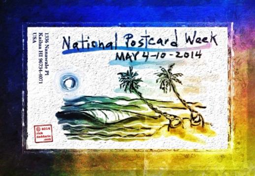 ©14 National Postcard Week 2014 Postcard sml 6x
