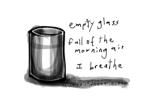 ©14 Empty Glass 1 sml 6x